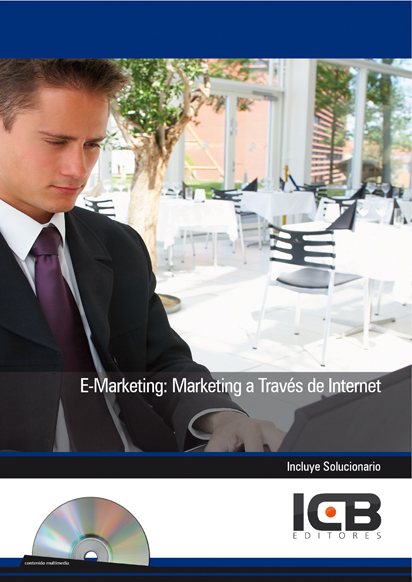 Portada de E-Marketing: Marketing a Través de Internet - Incluye Contenido Multimedia